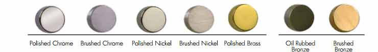 Cabinet Hardware Finishes