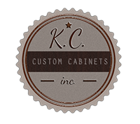 Logo For K.C. Custom Cabinets, Inc.