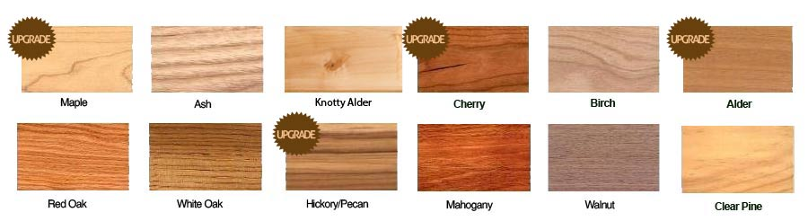Types Of Wood For Cabinets Sbiroregon Org